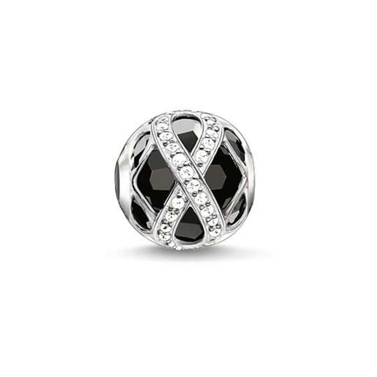 Bead Infinity noir de la collection Karma Beads dans la boutique en ligne de THOMAS SABO