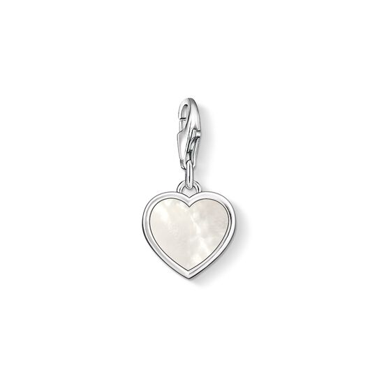 Charm pendant mother-of-pearl heart from the Charm Club collection in the THOMAS SABO online store