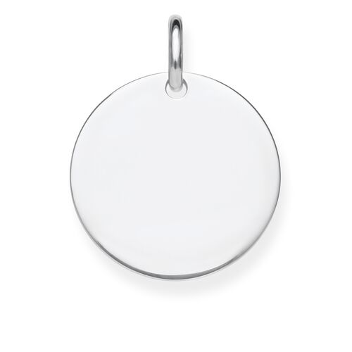"pendant ""disc"" from the Love Bridge collection in the THOMAS SABO online store"