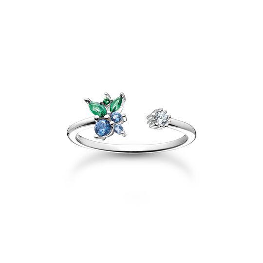 Ring Blaubeere silber aus der Charming Collection Kollektion im Online Shop von THOMAS SABO