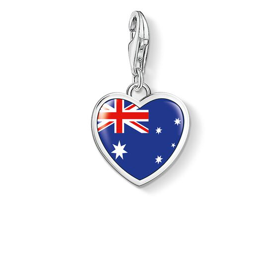"Charm pendant ""heart flag Australia"" from the  collection in the THOMAS SABO online store"