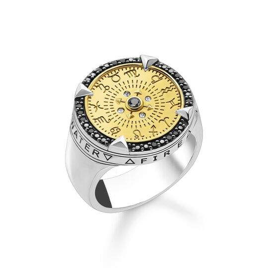 Ring elements of nature gold from the  collection in the THOMAS SABO online store