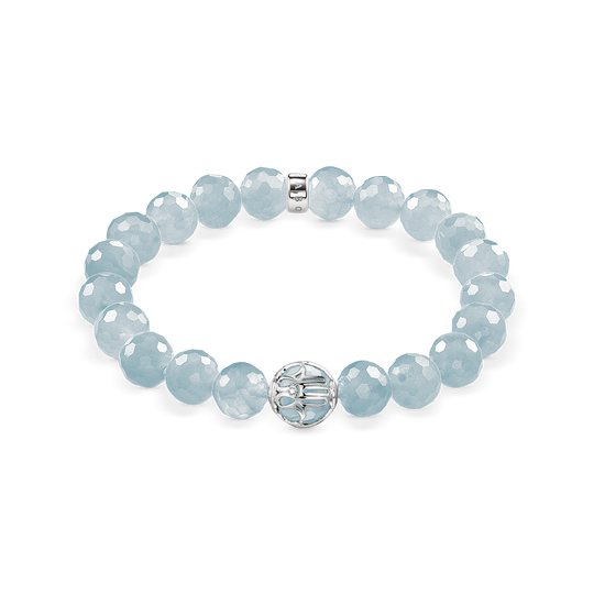 bracelet light blue lotos blossom from the Glam & Soul collection in the THOMAS SABO online store