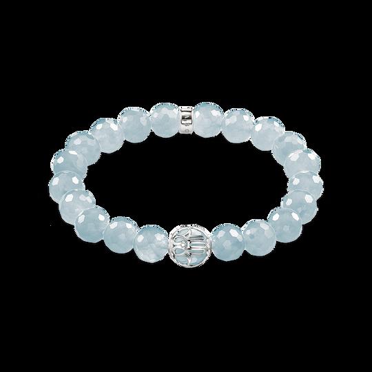 bracelet fleur de lotus bleu clair de la collection Glam & Soul dans la boutique en ligne de THOMAS SABO