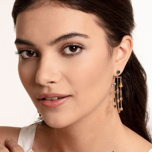 """earrings """"Colourful Stones"""" from the Glam & Soul collection in the THOMAS SABO online store"""