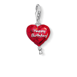"Charm pendant ""balloon HAPPY BIRTHDAY"" from the  collection in the THOMAS SABO online store"