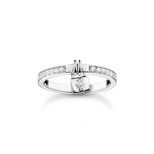 Ring Schloss silber aus der Charming Collection Kollektion im Online Shop von THOMAS SABO