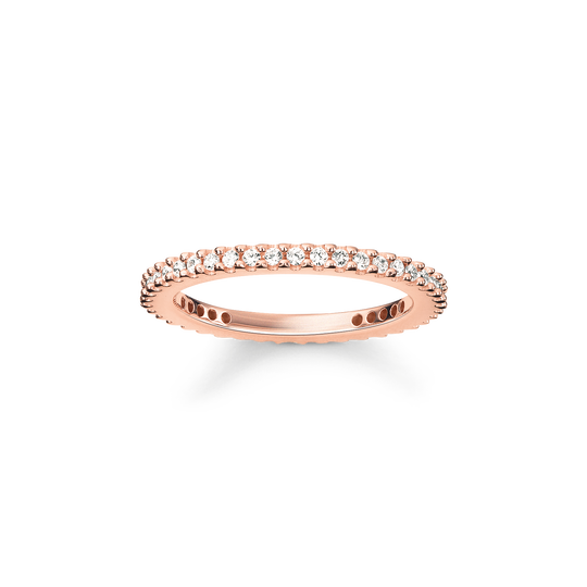 ring eternity pavé from the Glam & Soul collection in the THOMAS SABO online store