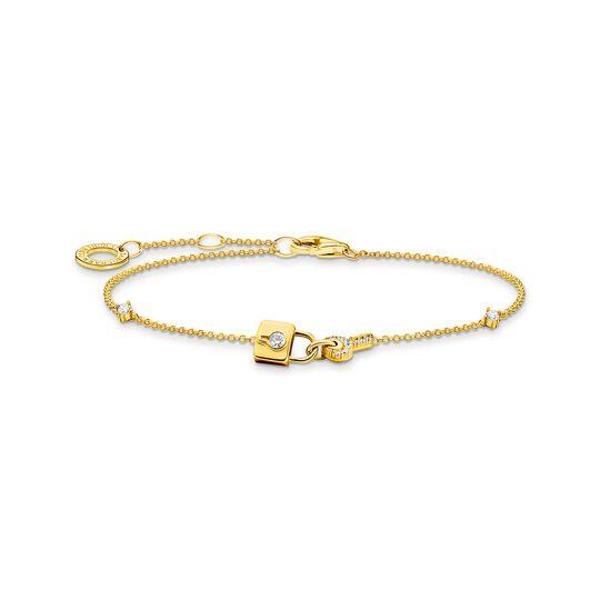 Bracelet cadenas or de la collection Charming Collection dans la boutique en ligne de THOMAS SABO