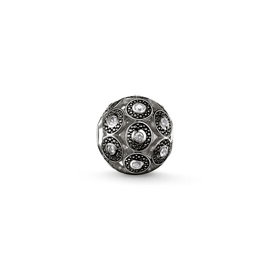 Bead art déco black from the Karma Beads collection in the THOMAS SABO online store