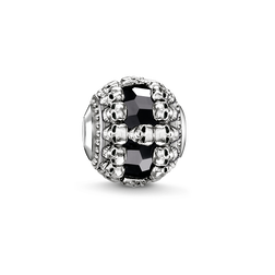 """Bead """"teschi neri"""" from the Karma Beads collection in the THOMAS SABO online store"""