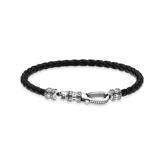 Leather strap Lobster clasp from the  collection in the THOMAS SABO online store