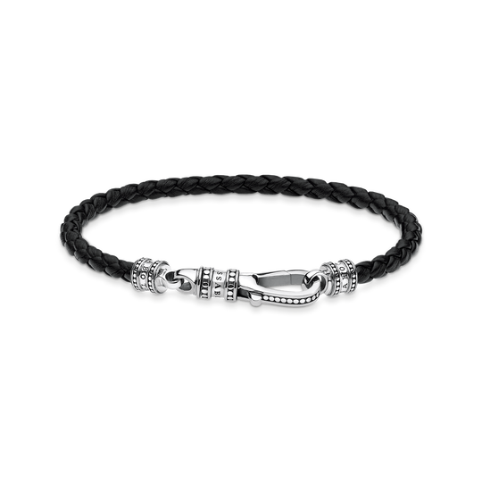Leather strap Lobster clasp from the Rebel at heart collection in the THOMAS SABO online store