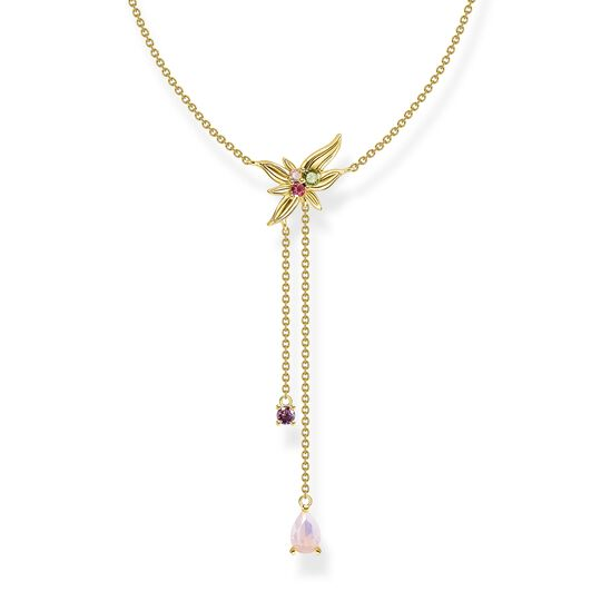 Halsband y-halsband blomma guld ur kollektionen  i THOMAS SABO:s onlineshop