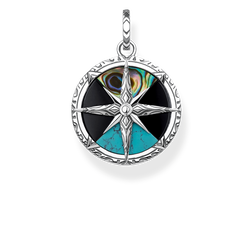 "pendant ""compass small"" from the Rebel at heart collection in the THOMAS SABO online store"