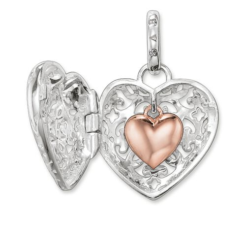 """pendant """"heart medallion"""" from the Glam & Soul collection in the THOMAS SABO online store"""