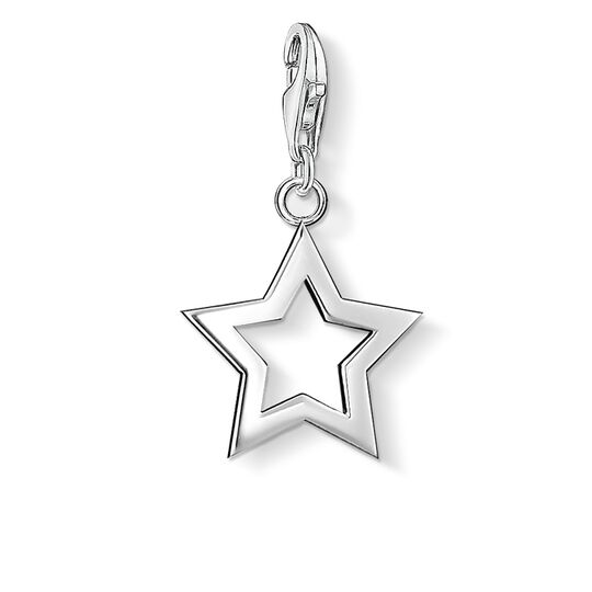 Charm pendant star from the  collection in the THOMAS SABO online store