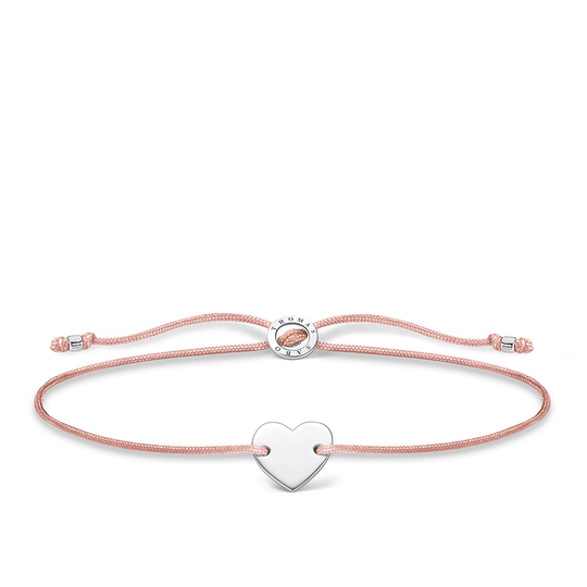 Bracelet heart silver from the Charming Collection collection in the THOMAS SABO online store