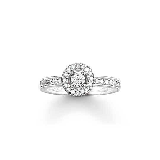 solitaire ring Light of Luna from the  collection in the THOMAS SABO online store
