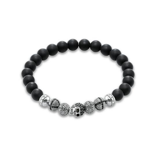 """Armband """"Totenkopf"""" aus der Rebel at heart Kollektion im Online Shop von THOMAS SABO"""