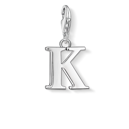 """ciondolo Charm """"lettera K"""" from the  collection in the THOMAS SABO online store"""