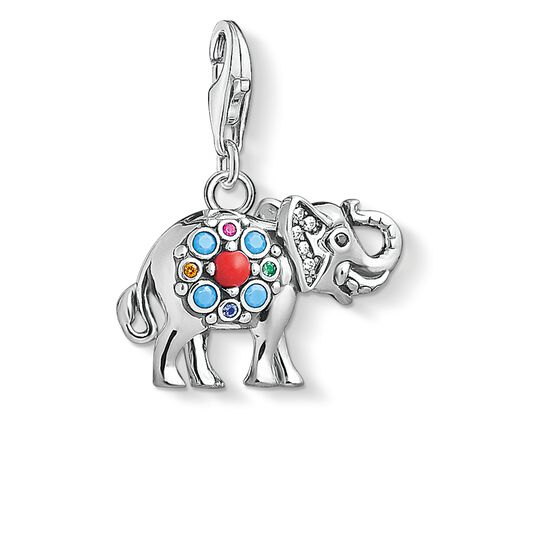 "Charm pendant ""Indian elephant"" from the  collection in the THOMAS SABO online store"