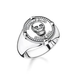 "bague ""tête de mort"" de la collection Rebel at heart dans la boutique en ligne de THOMAS SABO"