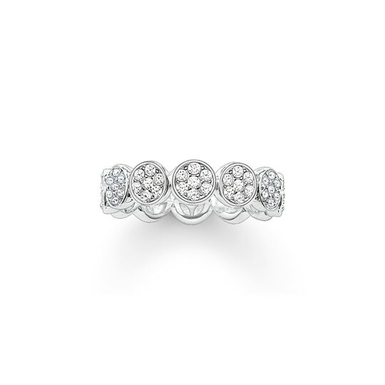 Ring Sparkling Circles from the  collection in the THOMAS SABO online store