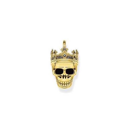 Colgante calavera de rey oro de la colección  en la tienda online de THOMAS SABO