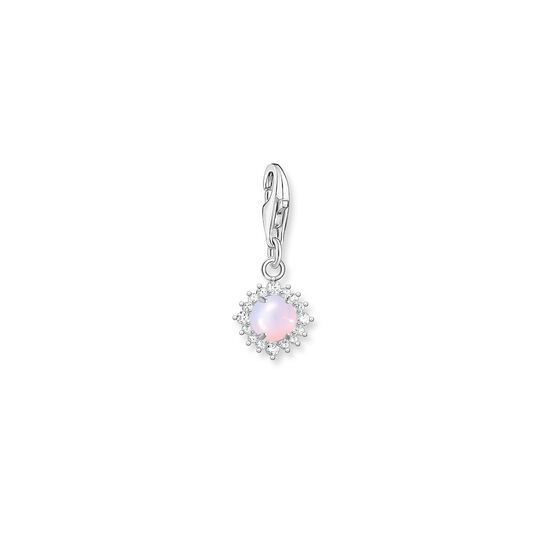 Charm pendant opal-coloured stone from the  collection in the THOMAS SABO online store