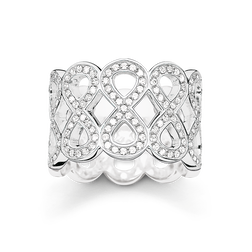 band ring infinity from the Glam & Soul collection in the THOMAS SABO online store