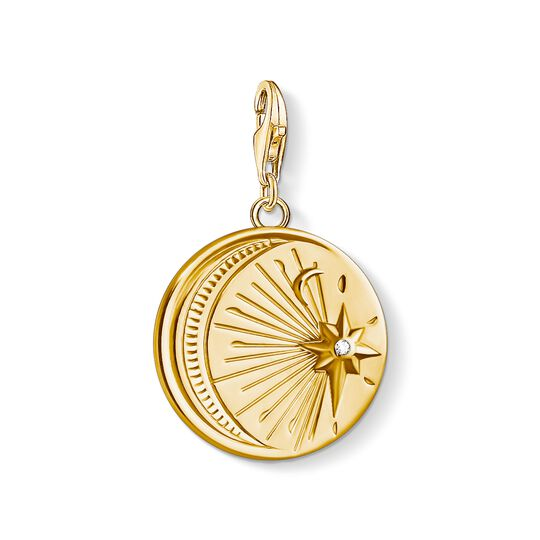 Charm pendant Vintage MOON and STAR from the Charm Club collection in the THOMAS SABO online store