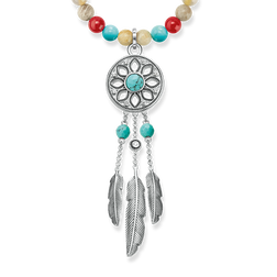 necklace ethno dreamcatcher from the Glam & Soul collection in the THOMAS SABO online store