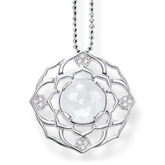 "necklace ""crown chakra"" from the Chakras collection in the THOMAS SABO online store"