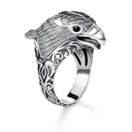 "ring ""eagle"" from the Rebel at Heart collection in the THOMAS SABO online store"