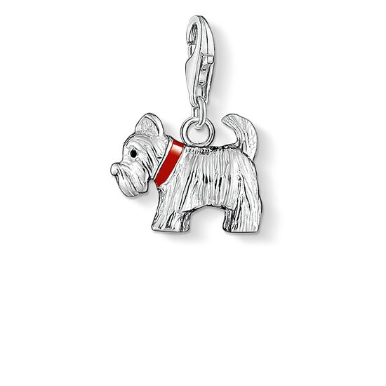 "Charm pendant ""dog terrier"" from the  collection in the THOMAS SABO online store"