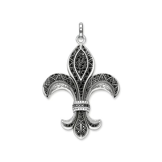 pendant bourbon lily large from the Rebel at heart collection in the THOMAS SABO online store