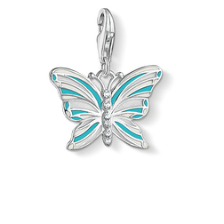 Charm pendant butterfly from the Charm Club Collection collection in the THOMAS SABO online store