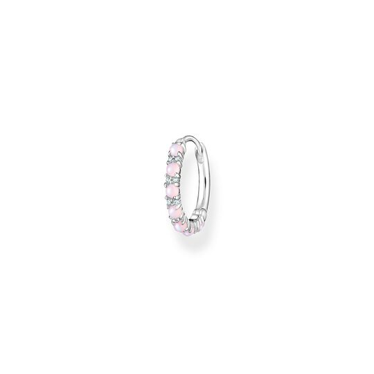 Hoop earring pink stones from the Charming Collection collection in the THOMAS SABO online store