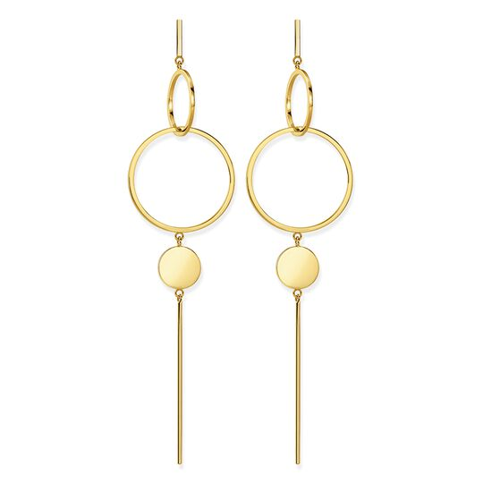 "earrings ""disc"" from the Glam & Soul collection in the THOMAS SABO online store"