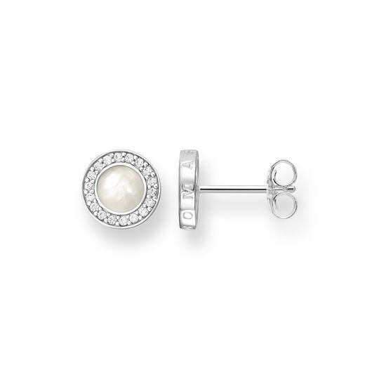 ear studs classic white pavé from the Glam & Soul collection in the THOMAS SABO online store
