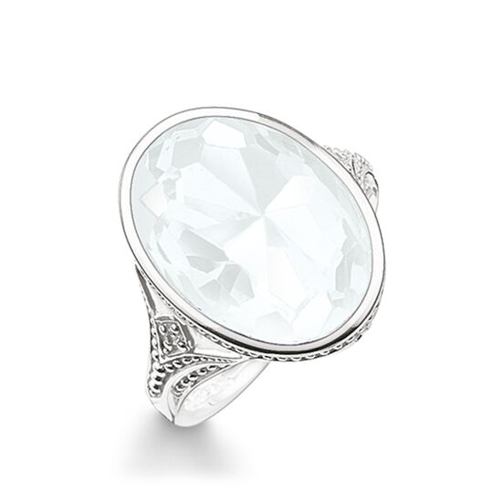 cocktail ring white from the Glam & Soul collection in the THOMAS SABO online store