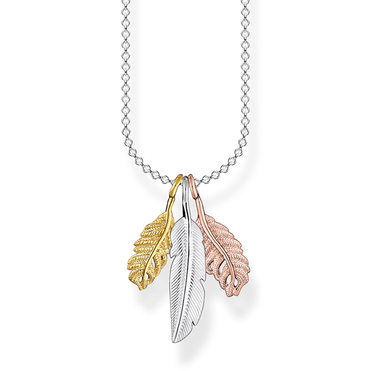 Necklace feathers from the Charming Collection collection in the THOMAS SABO online store