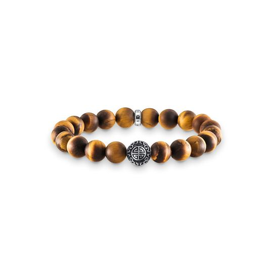 bracelet ethnic tiger's eye brown from the Glam & Soul collection in the THOMAS SABO online store