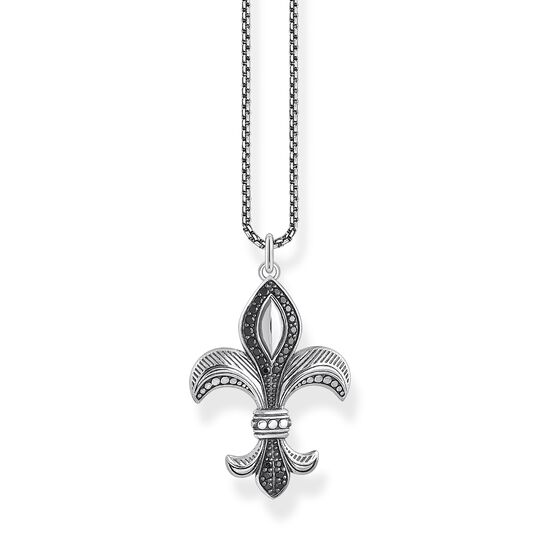 Necklace fleur-de-lis from the  collection in the THOMAS SABO online store