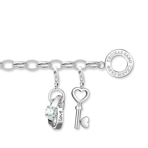 """Charm bracelet """"love"""" from the  collection in the THOMAS SABO online store"""