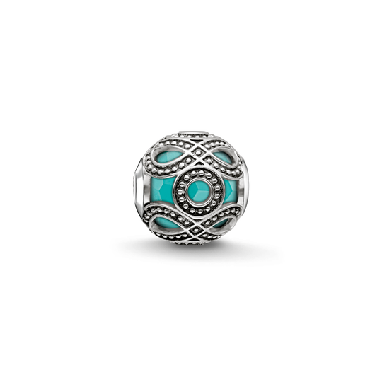 Bead turquoise ethnic from the Karma Beads collection in the THOMAS SABO online store