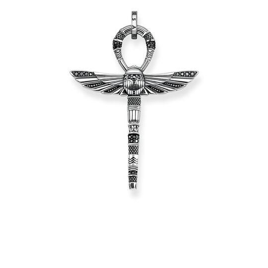 pendant cross of life ankh with scarab from the Rebel at heart collection in the THOMAS SABO online store