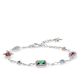 bracelet Lucky charms, silver from the Glam & Soul collection in the THOMAS SABO online store
