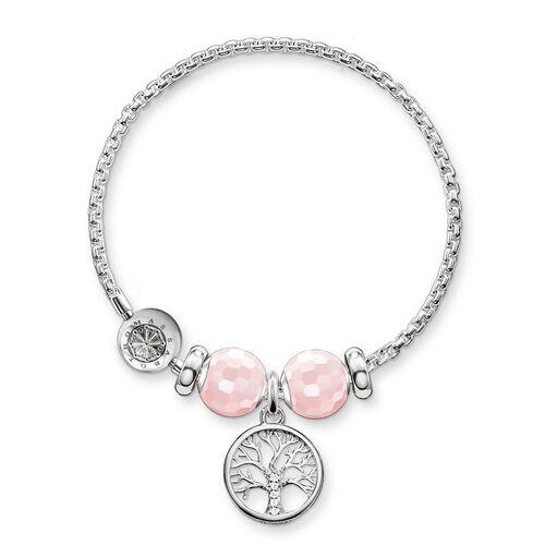 """pulsera """"Árbol del amor"""" de la colección Karma Beads en la tienda online de THOMAS SABO"""